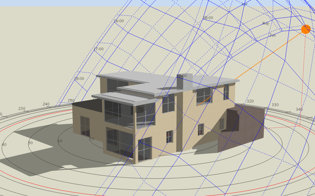 Design Builder 3d Model Example 3 New Earth Architecture