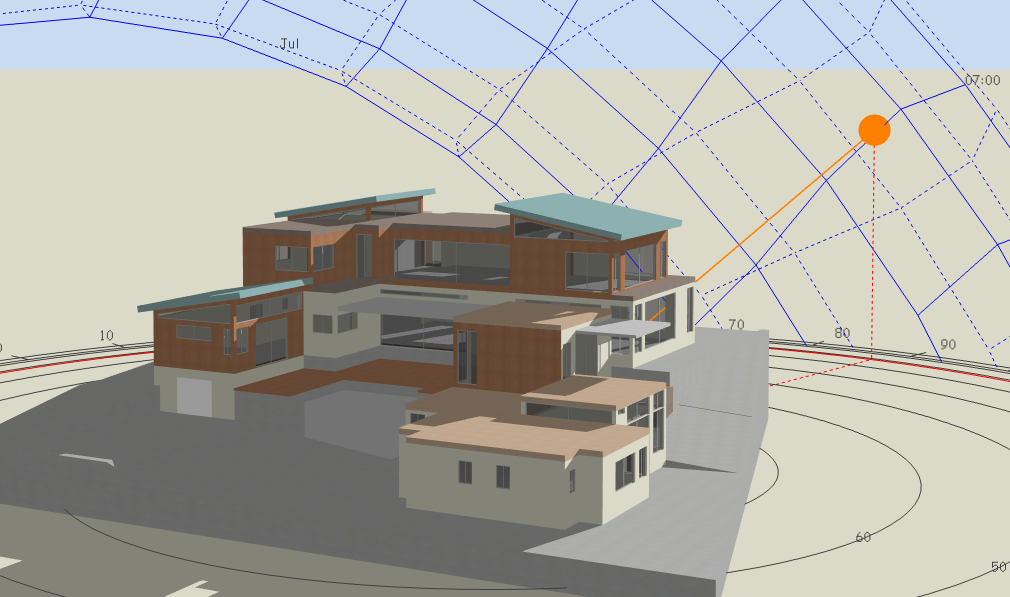 Design Builder 3d Model Example 1 New Earth Architecture